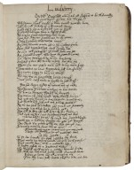 Poetical miscellany and commonplace book of the Smith family [manuscript], compiled ca. 1620-ca. 1665.