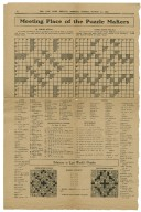 Shakespearean puzzles collected and solved by the Folgers [manuscript]
