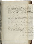 Autograph letter signed from Sir Francis Walsingham, Greenwich, to unknown recipient [manuscript], 1574 May 26.