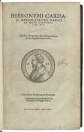[De rerum varietate libri XVII] Hieronymi Cardani Mediolanensis medici De rerum uarietate libri XVII : adiectus est capitum, rerum & sententiarum notatu dignissimarum index.