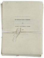 The cryptologist looks at Shakespeare [manuscript].