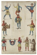 Charles Kean's scrap book [including costumes, scenes, and scenery from nine Shakespearian plays, and portraits of contemporary actors and actresses] [graphic].