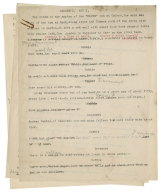 "Notes and multiple drafts by Justin H. McCarthy for the play ""Cardenio"" [manuscript] : autograph manuscript and typescript, 1932-1933."