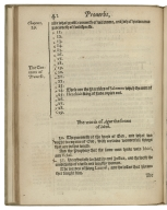 A collection of the contents, of all the chapters contained in the Bible ; according to the translation which is appointed to be read in churches.