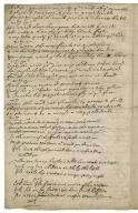 A dreadfull apparition at Salisbury / A new ballad to ye tune, wch / nobody can deny� [manuscript].