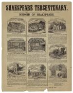 Shakspeare tercentenary, memoir of Shakspeare.