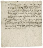 [Venus and Adonis. Selections.] Venus and Adonis quotation [manuscript], ca. 1630s.