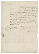 Autograph letters signed from Thomas Booth, London, to John Booth [manuscript], 1683-1689.