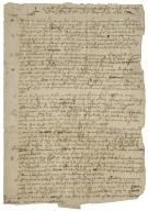Orders for solemn humiliations and fasts [manuscript], 1648.