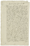 Copy of letter from Robert Devereux, Earl of Essex, to Elizabeth I, Queen of England, 1600?