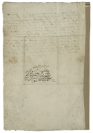 Autograph letter signed from Sir Rowland Stanley to Thomas Fletcher, mayor of Chester
