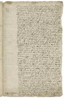 Autograph letter signed from John Hayward to John Cosin, clerk