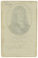 print removed from John Thane's British autography: John Lord Belasyse from an original by Van Dyck, which includes facsimile signature.