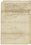 Copy of note from Sir George Radcliffe to Thomas Wentworth, Earl of Strafford, October 28, 1640