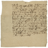 Copy of letter from Philip IV, King of Spain to Count Olivares, 1623
