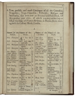 A true, perfect, and exact catalogue of all the comedies, tragedies, tragi-comedies, pastorals, masques and interludes, that were ever yet printed and published, till this present year 1671. all which you may either buy or sell, at the shop of Francis Kirkman, in Thames-street, over-against the Custom House, London.