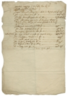 Accounts and bills of Warwick