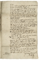 """Autograph letter signed from """"Edw: Coke"""" at """"Stoke"""" [House, Stoke Poges], to his confidential secretary and man of business John Pepys"""
