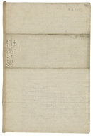 Autograph letters signed from Thomas Walker to the Lord Treasurer (Barrett)