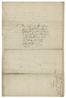 Autograph letters signed from Thomas Walker to his brother, Sir Edward Walker