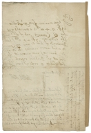 Letter of Brent Moore to an unnamed addressee, with a note in another hand