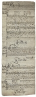 Court roll for Court Baron of manors of Hemley and Newbourn, Suffolk