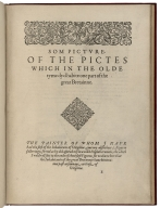 A briefe and true report of the new found land of Virginia. of the commodities and of the nature and manners of the naturall inhabitants. Discouered by the English colon there seated by Sir Richard Greinuile Knight in the eere 1585. Which remained vnder the gouernement of twelue monethes, at the speciall charge and direction of the Honourable Sir Walter Raleigh Knight lord Warden of the stanneries who therein hath beene fauoured and authorised b her Maiestie :and her letters patents: This fore booke is made in English by Thomas Hariot seruant to the abouenamed Sir Walter, a member of the Colon, and there imploed in discouering Cum gratia et priuilegio Caes. Matis Speciali