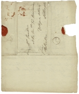 Letters from Mary Tickell to Elizabeth Ann Sheridan [manuscript], ca. 1785-1787.