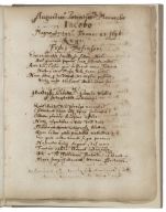 Copy of Andrew Melville's Anti-tami-cami-categoria and George Herbert's Musae responsoriae [manuscript], between 1620 and 1622?