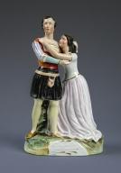 [Charlotte and Susan Cushman as Romeo and Juliet] [realia]