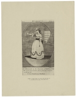 Mrs. Hallam in the character of Marianne... [in Reynolds' The dramatist] [graphic] / Dunlap, d. ; Tiebout, s.