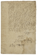 Letter signed from the Privy Council, Newhall, to Lord Northe