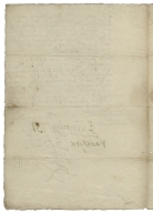 Letter signed from the Privy Council, Westminster, to William Cecil, Baron Burghley, Lord High Treasurer