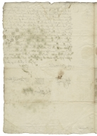 Letter signed from the Privy Council, Whitehall, to William Cecil, Baron Burghley, Lord High Treasurer