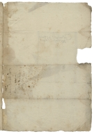 Letter signed from the Privy Council, Richmond, to Thomas Sackville, Lord Buckhurst, Lord High Treasurer of England