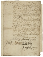 Letter signed from Privy Council, Whitehall, to the Lord Treasurer