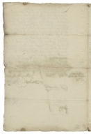 Letter signed from Privy Council, Richmond, to Thomas Sackville, Baron Buckhurst, Lord High Treasurer of England