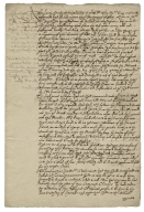 Letter from the Privy Council, Whitehall, to Henry Hastings, Earl of Huntingdon, his Majesty's Lieutenant in Leicestershire