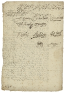 Letter from the Privy Council, Richmond, to unidentified recipient