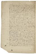 Agreement about rents by Gaspard Schomberg, comte de Nanteuil, with Monsieur Loya de Chasteigner