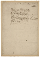 Receipt from Thomas Howard, Earl of Berkshire, to Sir David Cunningham