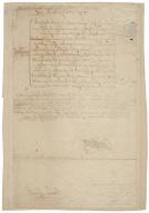 Bill of expenses due to John Leigh, usher to the Duke of York