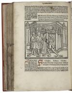 [Works. 1493] Guidonis Iuuenalis natione Cenomani in Terentium familiarissima interp[re]tatio cu[m] figuris unicuiq[ue] scaenae praepositis.