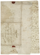 Autograph letters signed from Katherine Hamilton, Lady Paisley, to her cousin, [Hugh] Jones