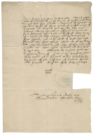 Bond from William White of Burntwood, Essex, to John Turke, citizen and fishmonger of London