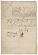 Bond from William Cocke of Maidencroft, Hertfordshire, to Richard Hale of London