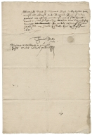 Acquittance from Thomas Myll to Richard Hale, grocer, of London