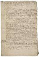 Legal notes concerning a legacy claimed by Richard Moore during the lease of Ashchurch Farm in Gloucestershire, near Tewkesbury
