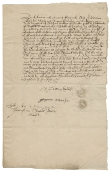 Acquittance from William Robinson of London, citizen and mercer, and Katherine Robinson, his wife, to Richard Hale of London