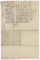 Receipted bill from Frances Cole to Henry Shrawvon
